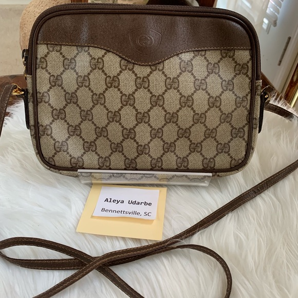 c352a8836 Gucci Bags | Authentic Crossbody Pvc | Poshmark